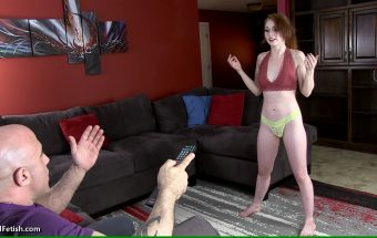 Entitled Step-Daughter Remote Control – Athena Rayne – Primal Fetish