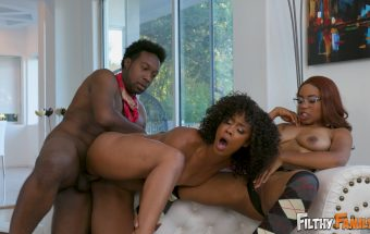 Lets Keep It in the Family – Misty Stone, Jenna Foxx, Xavier Miller, Jack Blake – Filthy Family