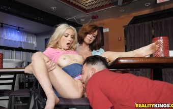 Dine and Dash – Jane Wilde & Andy James – Moms Bang Teens