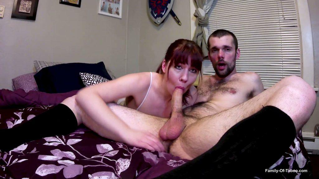 Tug job blow job naked pussy