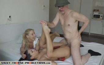 Annie Wolf Fucking My Grandpa – Nikky Thorne Prod