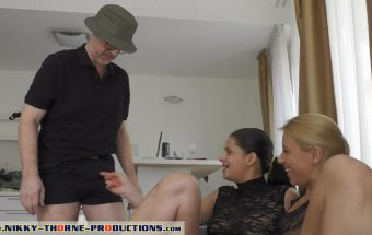 Coco De Mal – Part 1 – Grandpa's Blowjob – Nikky Thorne Prod