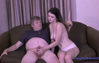 Anastasia Rose – Creampie By Grandpa – Naughty Midwest Girls