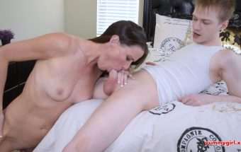 Yummy Step Mom – My Mommy Blows Me – Sofie Marie – Yummy Girl