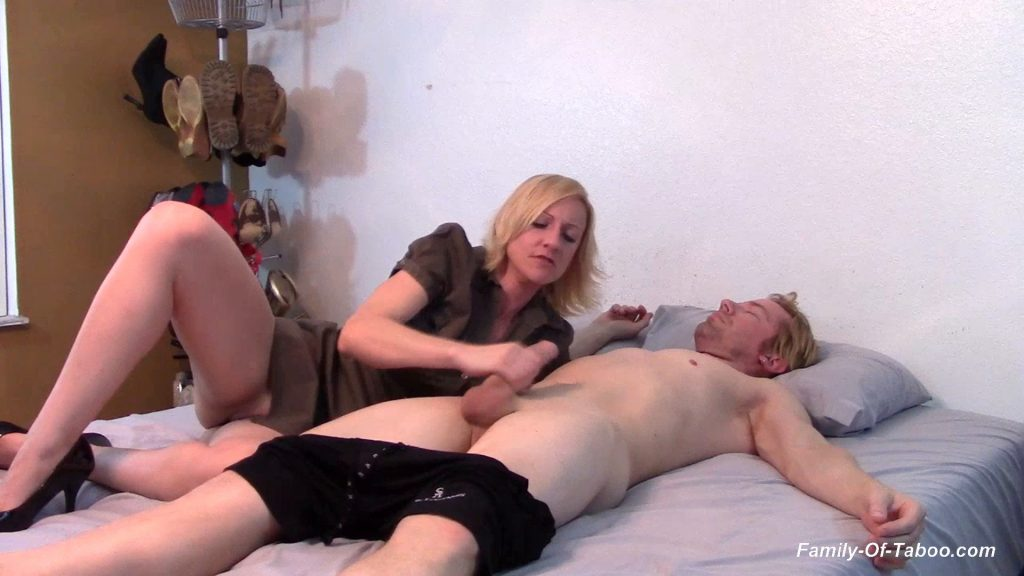 Sister Teases Brother Pussy