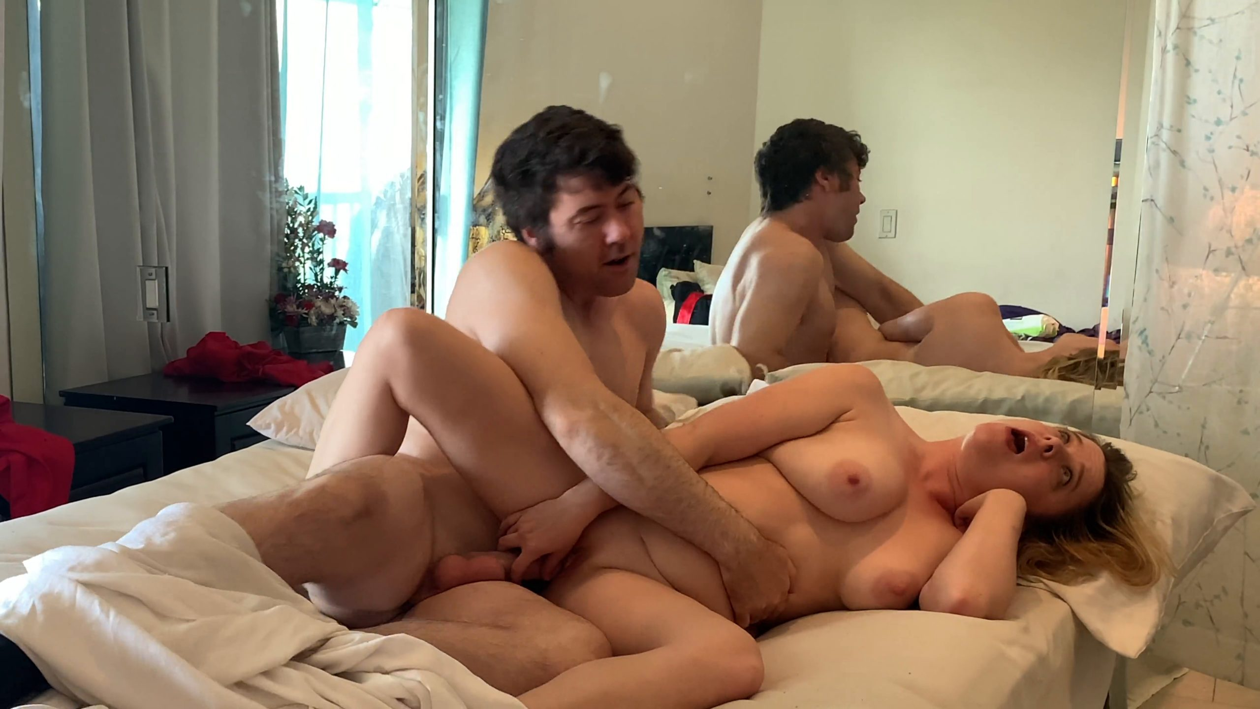 Tyler Nixon Share Bed Mom