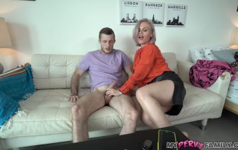 Mom Uses Step Son for Stress Release – Casca Akashova – My Pervy Family