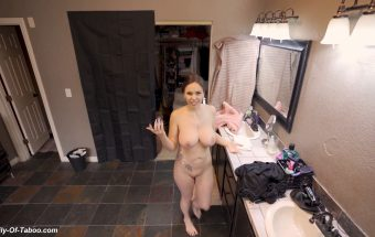 FRENCH STEPMOM SHOWERING WITH SON – PART 1 – WCA Productions, ImMeganLive