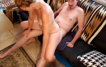 Truly Gets To Ride Neighbor Boy Forward And Reverse Cowgirl – Truly Roger 69